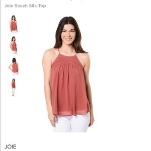 Joie Soseh silk top